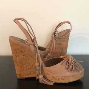 e2d8581e0a8 NWT Wild One Wedge Espadrilles by aquazzura NWT